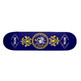 Louisiana Bicentennial Mardi Gras Logo View Hint Skateboards
