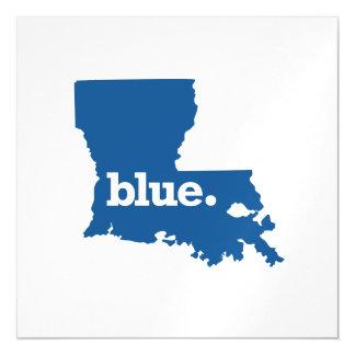 LOUISIANA BLUE STATE MAGNETIC INVITATIONS