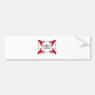 Louisiana Bugs Bumper Stickers