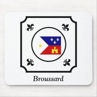 Louisiana Cajun Acadian Flag Mouse Pad With Name