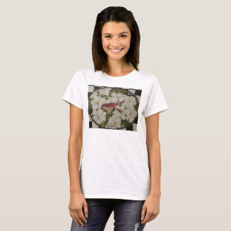 Louisiana crawfish and magnolias t-shirt