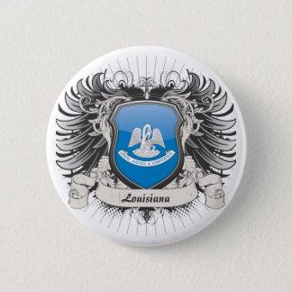 Louisiana Crest 6 Cm Round Badge