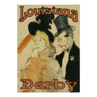 Louisiana Derby Poster