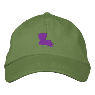 Louisiana Embroidered Hat