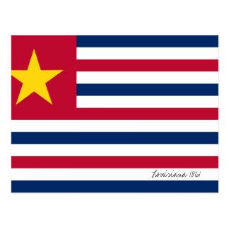 Louisiana Flag 1861 Postcards
