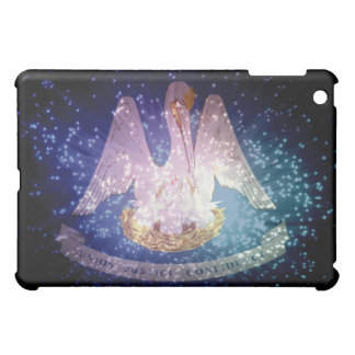 Louisiana Flag Firework Cover For The iPad Mini