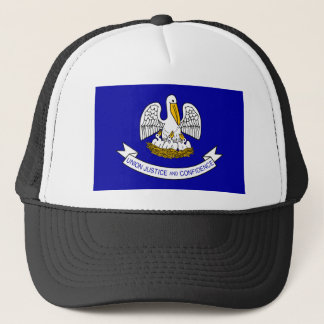 Louisiana Flag Trucker Hat