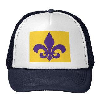 Louisiana Fleur de Lis Hat