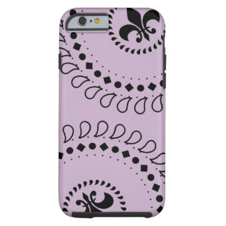Louisiana Fleur de Lis Tough Phone Case