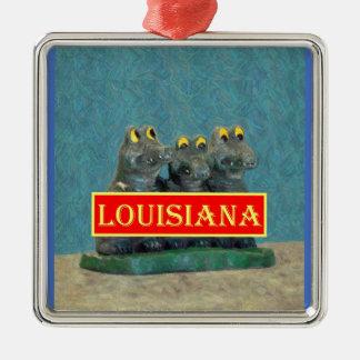 Louisiana Gators Painting 1.jpg Christmas Ornament