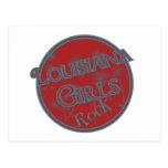 Louisiana Girls Rock! Postcard