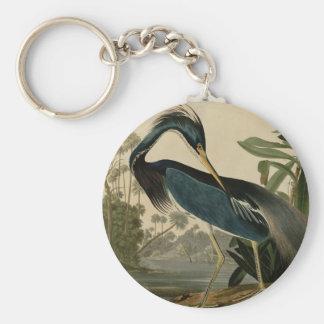 Louisiana Heron Keychain