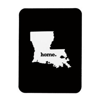 Louisiana Home Rectangular Photo Magnet