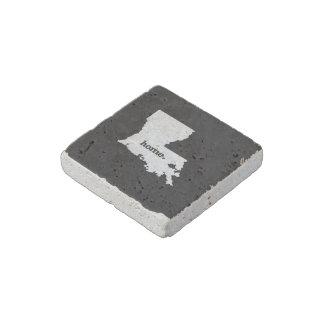 Louisiana Home Stone Magnet