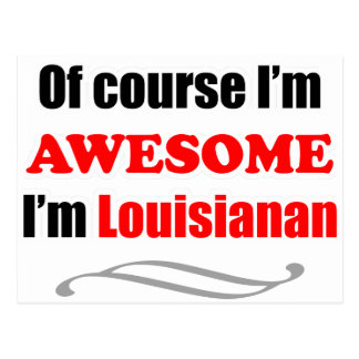 Louisiana Is Awesome Post Cards