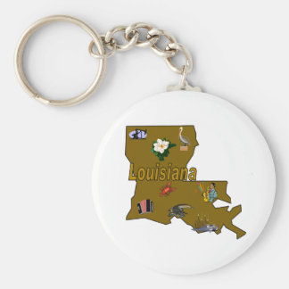 Louisiana Keychain