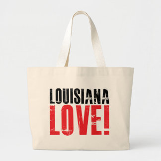 Louisiana Love Large Tote Bag