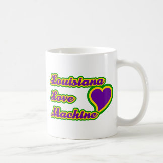 Louisiana Love Machine Basic White Mug