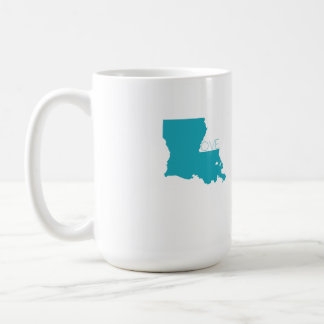 Louisiana Love Mug Blue
