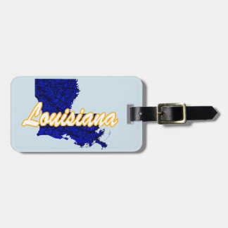 Louisiana Luggage Tag