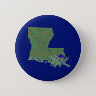 Louisiana Map Button