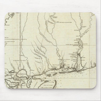 Louisiana Map Mouse Mat