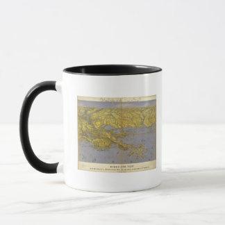 Louisiana, Mississippi, and Alabama Mug
