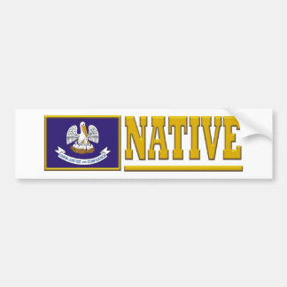 Louisiana Native Bumper Sticker