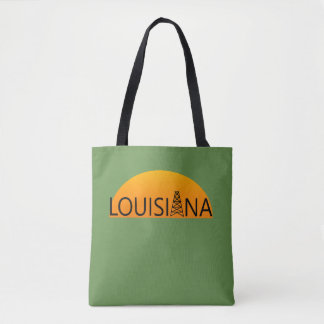 Louisiana Oil Field Tote