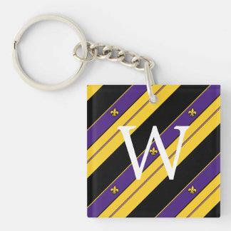 Louisiana Pattern Key Ring