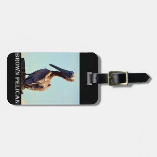 Louisiana Pelican Luggage Tag