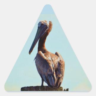 Louisiana Pelican Triangle Sticker