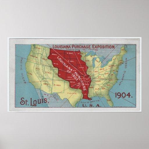 Louisiana Purchase Exposition Poster