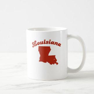 LOUISIANA Red State Basic White Mug