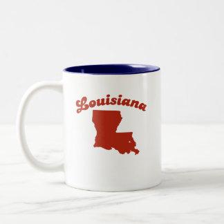 LOUISIANA Red State Two-Tone Mug
