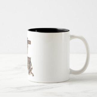 LOUISIANA RIG UP CAMO Two-Tone COFFEE MUG