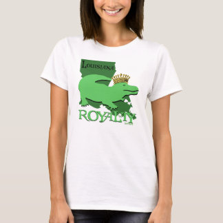 Louisiana Royalty (green gator) T-Shirt