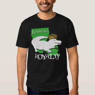 Louisiana Royalty (white gator) T Shirts