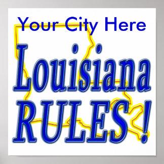 Louisiana Rules ! Posters