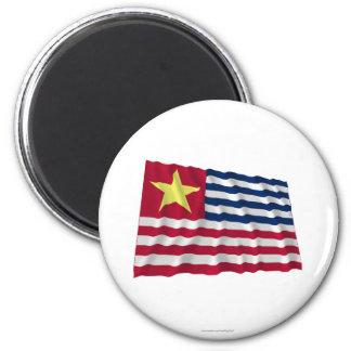 Louisiana Secession Flag of 1861 Magnet