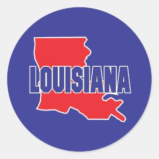 Louisiana State Classic Round Sticker