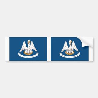Louisiana State flag Bumper Sticker