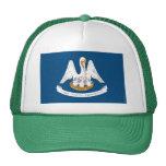 Louisiana State Flag Hats