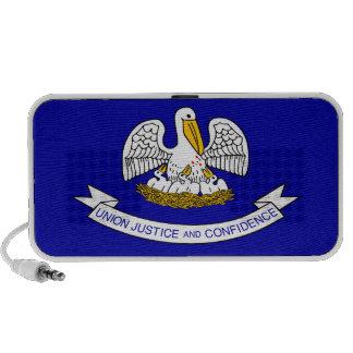 Louisiana State Flag Laptop Speakers