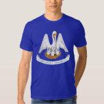 Louisiana State Flag T Shirts