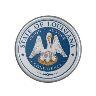 Louisiana state flag usa united america symbol sea bluetooth speaker