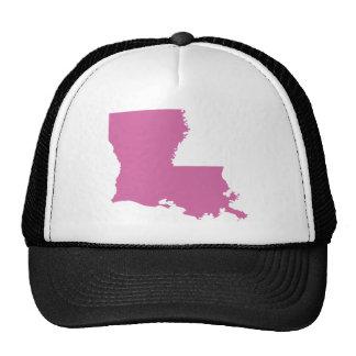 Louisiana State Outline Trucker Hat