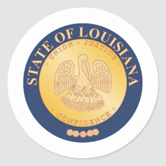 Louisiana State Seal and Motto
