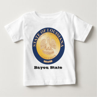 Louisiana State Seal and Motto Baby T-Shirt