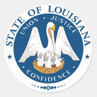 Louisiana State Seal Stickers